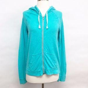 american eagle | full zip-up hoodie sz M